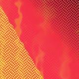 Rött och gult raster Fotografering för Bildbyråer