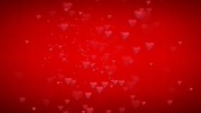 Rött omslag för livlig hjärta som är användbart för valentin för drama för underhållning för show för etapp för Oscar filmgranskn arkivfilmer