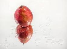 Rött päron Arkivbilder