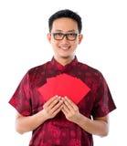 Rött paket Royaltyfri Foto