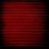 Rött papper med bandet Royaltyfri Fotografi