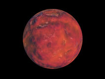 Rött planet stock illustrationer