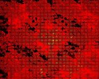 Rött rött raster vektor illustrationer