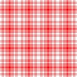 rött seamless för pläd royaltyfria bilder