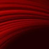 Rött släta ljusa linjer för vridningen. EPS 10 Royaltyfri Fotografi