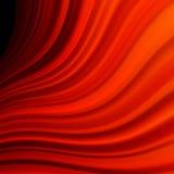 Rött släta ljusa linjer för vridningen. EPS 10 Royaltyfria Bilder