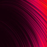 Rött släta vridningen fodrar lätt bakgrund. EPS 8 Royaltyfri Fotografi