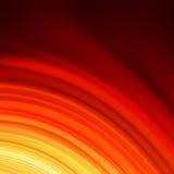 Rött smooth ljusa linjer bakgrund för twisten. EPS 8 Royaltyfri Foto