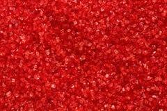 rött socker Arkivbilder