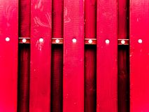 Rött staket Royaltyfria Foton