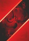 Rött täcka Royaltyfria Bilder