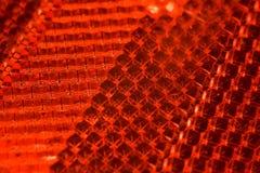 rött textural för ljus cataphotfragmentmodell Royaltyfri Fotografi