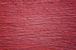 rött texturträ Arkivfoto