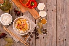 rött thai för curry Royaltyfri Foto