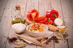 rött thai för curry Royaltyfria Bilder