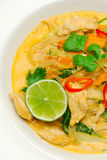rött thai för curry royaltyfria foton