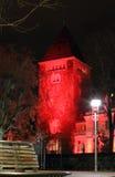 Rött torn Royaltyfria Foton