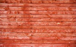 rött trä för staket Arkivfoto