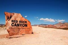 Rött vagga kanjonen Arkivfoton