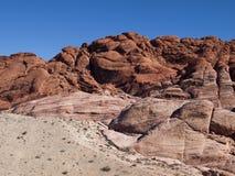 Rött vagga kanjonen nära Las Vegas Nevada Royaltyfria Foton
