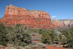Rött vagga landskap Royaltyfri Bild