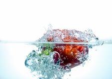 rött vatten för spansk peppar Royaltyfri Foto