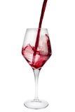 rött vin Arkivbilder