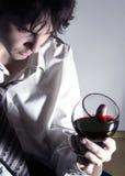 rött vin 3 Arkivbild