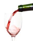 rött vin Arkivfoto