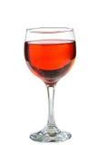Rött vin i exponeringsglas som är perfekt för tillfället Fotografering för Bildbyråer