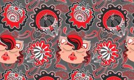 Rövsvin i kabaretskateboradåkarekjolar, modell, vektor royaltyfri illustrationer