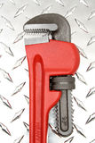 rørskiftnyckel Arkivfoto