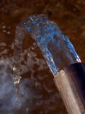 rørvatten Arkivfoton