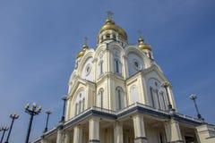 Rússia Catedral de Spaso-Preobrazhensky foto de stock