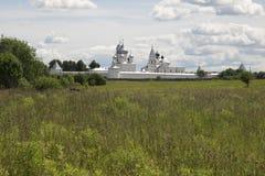 Rússia central Monastério de Nikitsky em Pereslavl-Zalessky imagem de stock