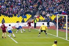 Rússia contra Azerbaijan Foto de Stock
