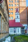 Rússia Ekaterinburg Igreja do ` s de St Anne do católico Fotografia de Stock Royalty Free