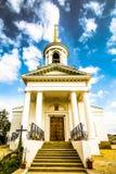 Rússia Ekaterinburg Templo do ícone da mãe do ` de Kazanskaya do ` do deus Imagens de Stock Royalty Free
