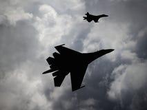 Rússia fez aviões de lutador ilustração stock