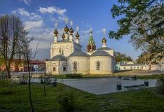 Rússia moore Catedral santamente da ascensão Imagem de Stock Royalty Free