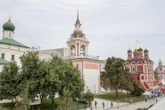Rússia, Moscou: Ajardinando o parque Zaryadye Fotos de Stock