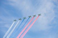 Rússia Moscou - 9 de maio de 2015 Victory Day Fotografia de Stock Royalty Free