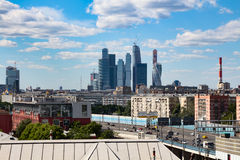 06/12/2015 Rússia Moscovo Vista da cidade de Moscou do russo Foto de Stock