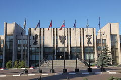 Rússia moscow Instituto do estado de MGIMO Moscou da construção das relações internacionais Fotografia de Stock
