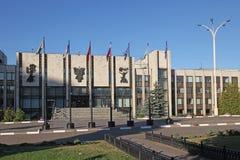 Rússia moscow Instituto do estado de MGIMO Moscou da construção das relações internacionais Foto de Stock Royalty Free