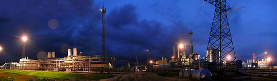 RÚSSIA, NADYM - 4 de setembro de 2007: Orporation GAZPROM do ¡ de Ð em Novy Foto de Stock Royalty Free
