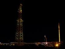 RÚSSIA, NADYM - 5 de setembro de 2007: Orporation GAZPROM do ¡ de Ð em Novy Foto de Stock Royalty Free