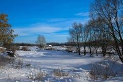 Rússia no inverno fotos de stock royalty free