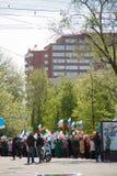 RÚSSIA, PENZA - MAIO 1: Demonstração do dia de maio Foto de Stock Royalty Free