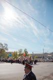 RÚSSIA, PENZA - MAIO 1: Demonstração do dia de maio Fotografia de Stock